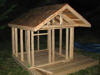 plans playhouse roof design  wood projects