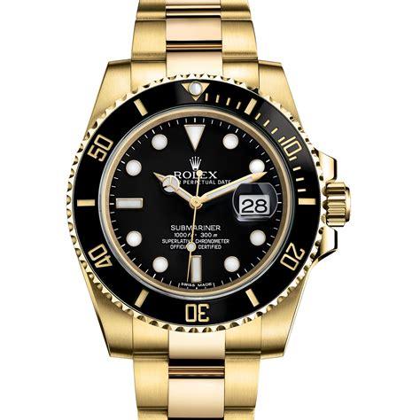 rolex submariner 116618ln gold black world s best