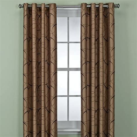 bed bath and beyond bronx orbitz curtains in taupe from bed bath and beyond the