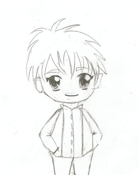 Chibi Boy By Heartofalexis On Deviantart Boy And Anime Drawing