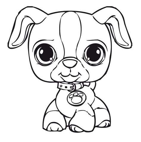 lps coloring pages to print coloring pages littlest pet shop coloring home