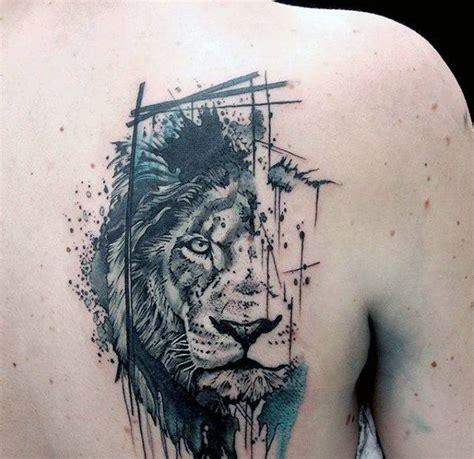 25 unique watercolor lion tattoo ideas on pinterest
