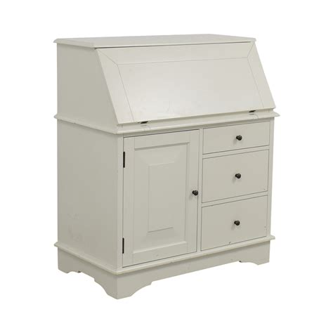 pottery barn graham desk and hutch for sale 69 off pottery barn pottery barn antique white graham