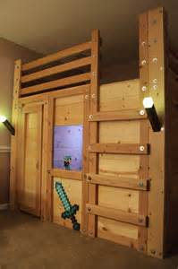 minecraft bett minecraft themed room palmetto bunk beds