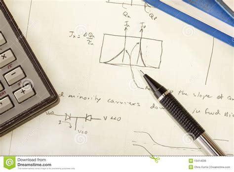 design engineer notes engineering notes royalty free stock images image 13414039