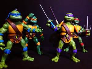 Ninja turtle weapons names each turtle comes with their