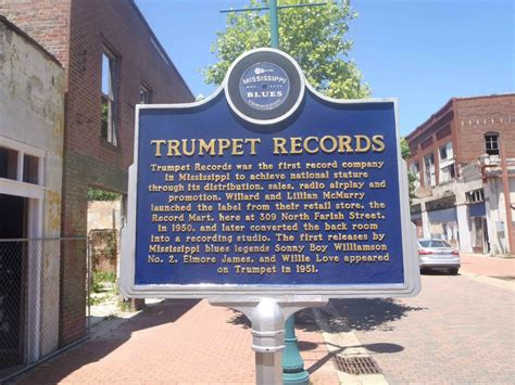 Records Jackson Ms Trumpet Records 309 N Farish Jackson Mississippi Mississippi Blues