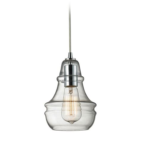 Mini Glass Pendant Lights Mini Pendant Light With Clear Glass 60057 1 Destination Lighting