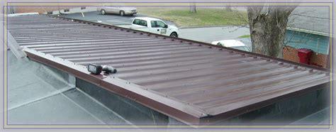 Flat Metal Roof Metal Roofing Company Gallery