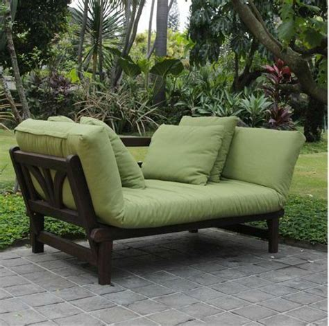 Outdoor Sofa Daybed Futon Furniture Deep Seat Deck Home Outdoor Furniture Day Bed