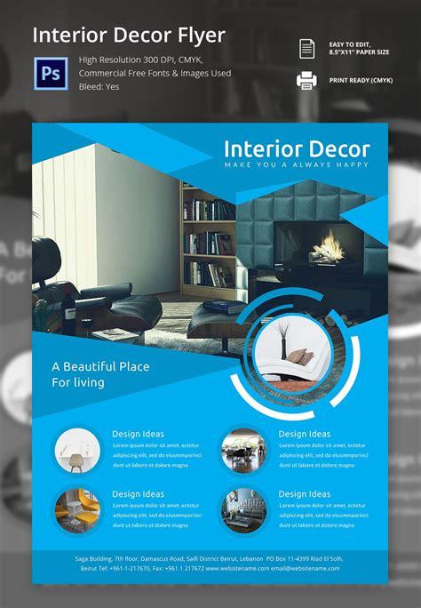 17 Interior Decoration Brochure Free Word Psd Pdf Eps Indesign Format Download Free Pdf Template Design