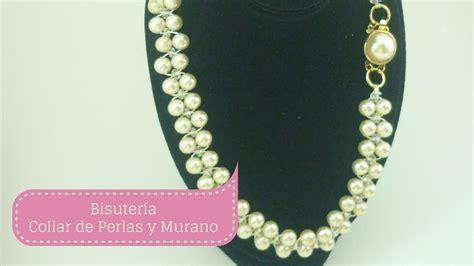 perlas de estambre manualidades pinterest manualidades como hacer collar de perlas paso a paso diy