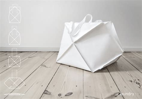 Origami Suitcase - origami inspired shape shifting bag favbulous