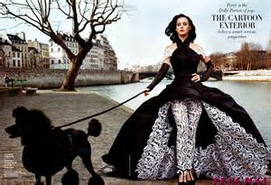 Vanity Fair Actually Katy Perry For Vanity Fair With Poodle Actually Had A