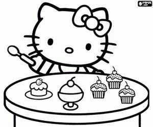 cupcake coloré hello e le cupcakes da colorare e stare
