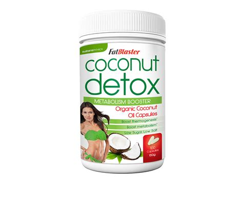 Coconut Detox Diet by 2 X Naturopathica Fatblaster Coconut Detox 1000mg 100 Caps