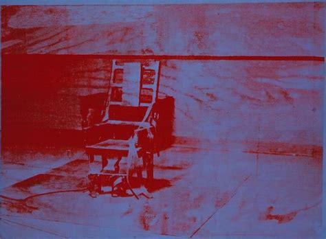 sedia elettrica andy warhol palazzo di pisa andy warhol eventi culturali magazine