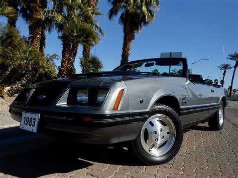 no reserve 1983 ford mustang gt 5 0 convertible 1 owner 14600 actual miles for sale ford