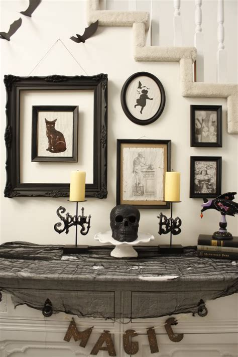 creepy home decor halloween ideas that are good scary fun