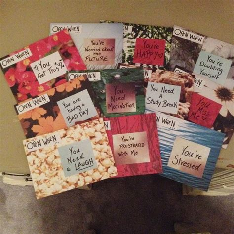 Best Handmade Gift - 35 inspiring open when letters made by you ldr magazine
