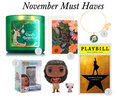 Yums November Must Haves by Must November 2016 Simply Sinova