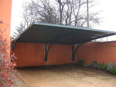 tettoia acciaio ts pergola a tettoia a sbalzo anteriore