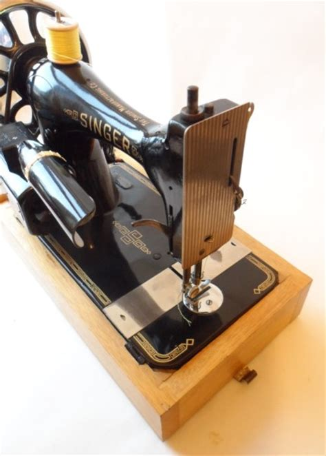new home sewing machine serial number serviced antique