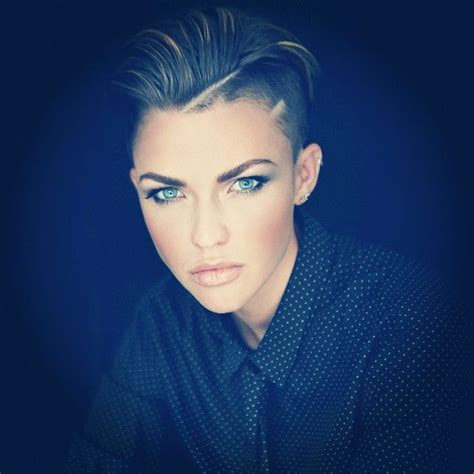 ruby rose hairstyles ruby rose s signature undercut