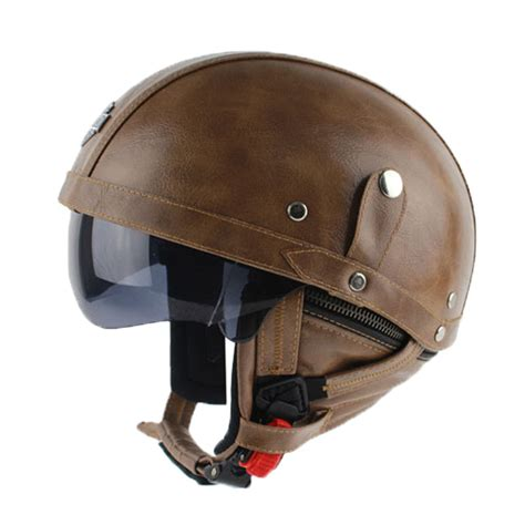 leather motorcycle helmet popular cool half helmets buy cheap cool half helmets lots