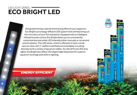 Fluval Launches Diverse Array Of Led Aquarium Lighting Optio Fluval Eco Bright Led Aquarium Light