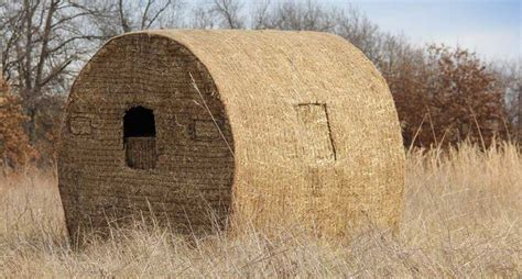 straw bale dog house building a diy bale blind can be as easy as you want it to be