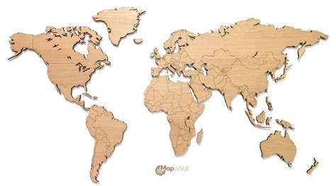 world map mapawall wooden world maps mapyourwall