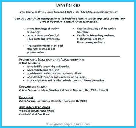 1000 ideas about rn resume on registered