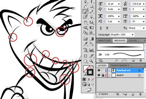 illustrator tutorial pdf free download ultimate inking and coloring tutorial for adobe