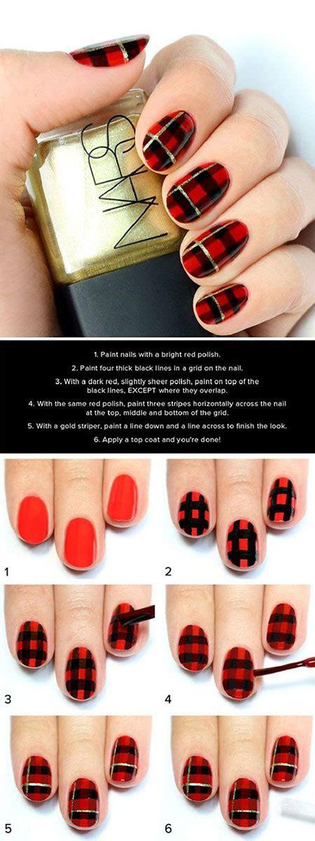 christmas nail art tutorial videos 18 easy step by step christmas nail art tutorials for