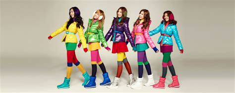 colorful clothes snsd models spao colorful line asian lyrics