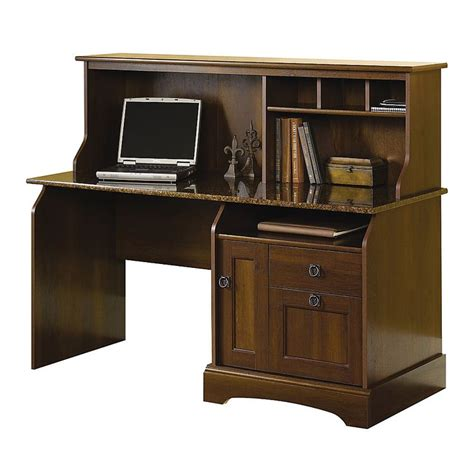 sauder computer desk with hutch sauder 174 graham ridge computer desk with hutch 47 1 10 quot h x