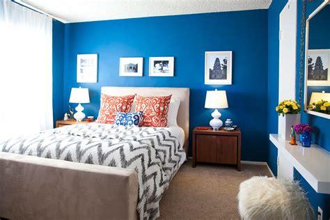 cool calm  cobalt bedroom bright bedroom colors