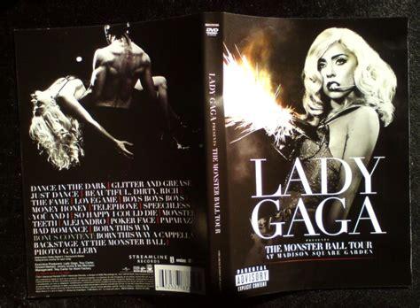 Dvd Import Gaga Tour themonsterball 黑马素材网