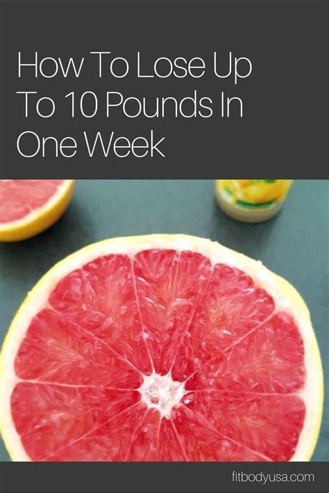 Detox Drink Lose 10 Pounds In A Week by 25 Best Grapefruit Diet Ideas On Grapefruit
