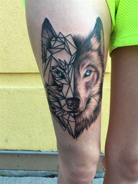 tattoo geometric thigh geometric tattoo thigh ideas yo tattoo