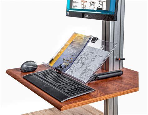 convert treadmill into desk stand up desk converter workup standing desk converter