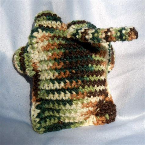 Win Win Crochet Cat Shape Hat camouflage crochet cat plushie stuffed animal crowe shea fashions