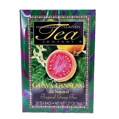 Hilo Green Tea guava ginseng tropical green tea hilo hattie the store of hawaii