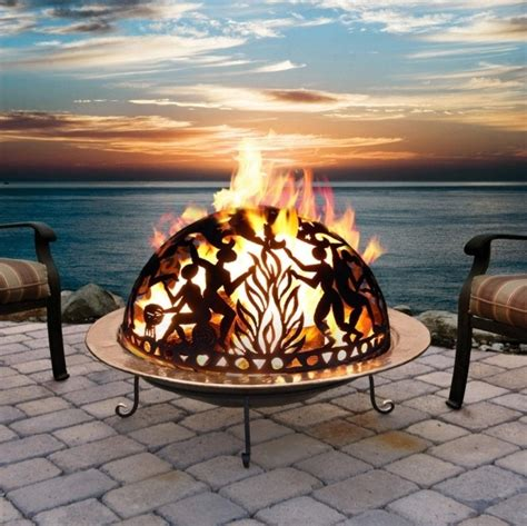 portable wood burning pit pit ideas