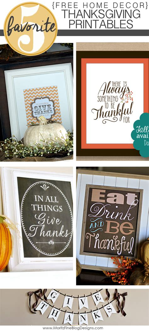 printable home decor free home decor thanksgiving printables