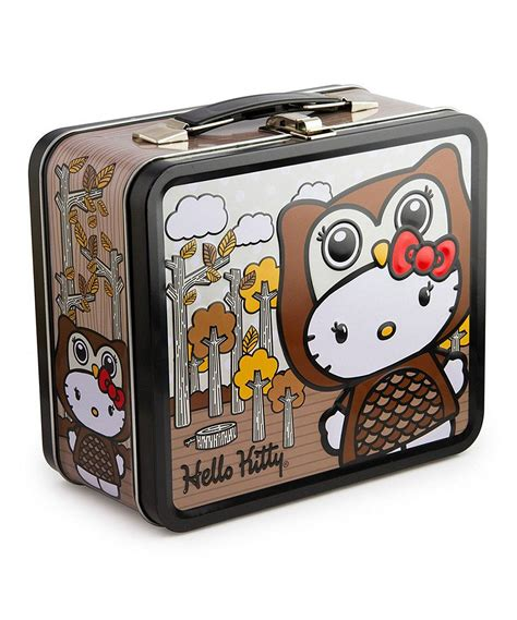 Owl Hello owl hello lunch box by loungefly i owls hello