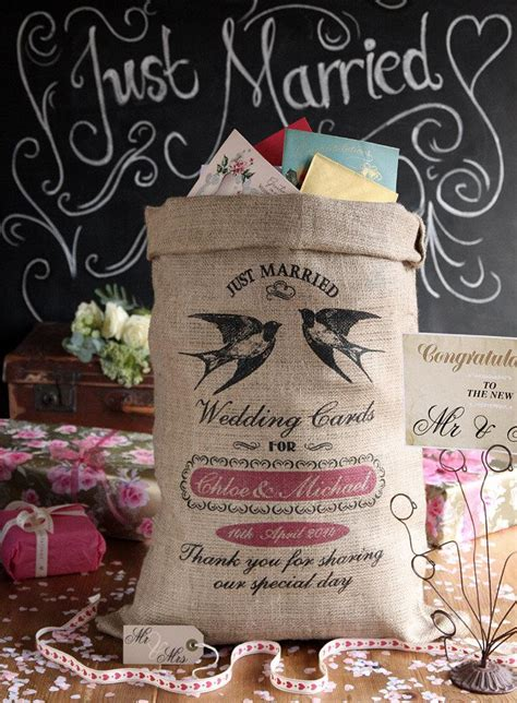 Personalized Wedding Gift Card Box - personalized wedding card post box wishing well for wedding cards and presents