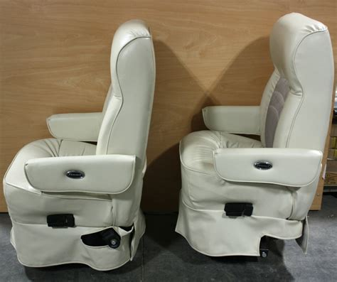 Flexsteel Rv Captains Chairs Parts by Rv Furniture Used Set Of 2 Flexsteel Leather Cloth