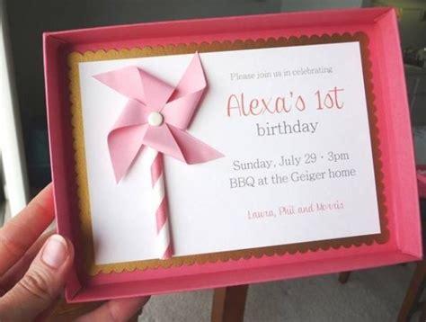 diy 1st birthday invitations 10 creative diy birthday invitations design dazzle